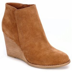 Franco Fortini Henna Suede Leather Upper Booties